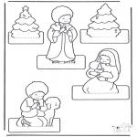 Kreativitet - Kerststal maken 2