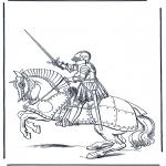 Litt av hvert - Knight on a horse