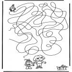 Kreativitet - Labyrinth Dora
