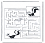 Labyrinth skunk