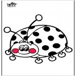 Dyr - Ladybird 3