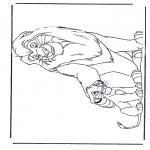 Tegneseriefigurer - Lion King 1