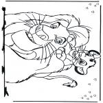 Tegneseriefigurer - Lion King 2