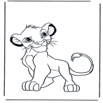 Tegneseriefigurer - Lion King 5