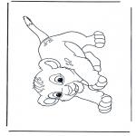 Tegneseriefigurer - Lion King Simba