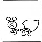 Småbarn - Little ant
