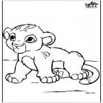 Dyr - Little baby lion