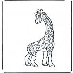Småbarn - Little giraffe