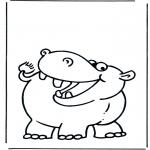 Småbarn - Little hippo 1