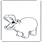 Småbarn - Little hippo 2