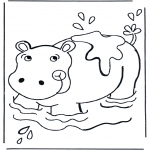 Småbarn - Little hippo 3