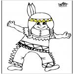 Litt av hvert - Little indian 1