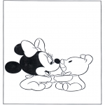 Tegneseriefigurer - Little Minnie