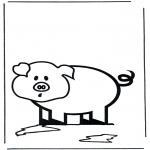 Dyr - Little pig