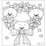 Jul - Little x-mas bears