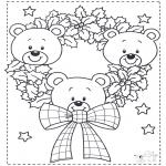 Jul - Little x-mas bears