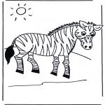 Småbarn - Little zebra