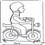 Litt av hvert - Man on moped