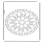Broderkort - Mandala 29