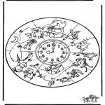 Mandala - Mandala animals 1