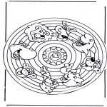 Mandala - Mandala animals 2