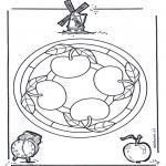 Mandala - Mandala apple
