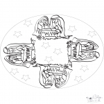 Mandala - Mandala baby Jesus