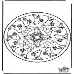 Mandala - Mandala birds