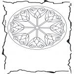 Mandala - Mandala flowers 3
