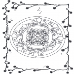 Mandala - Mandala flowers 6