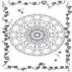 Mandala - Mandala hearts 3