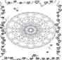 Mandala hearts 3