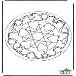 Mandala - Mandala hearts 5