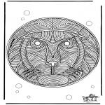 Mandala - Mandala Lion