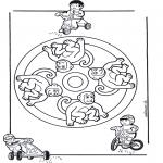 Mandala - Mandala monkey