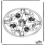 Mandala - Mandala mouse 2