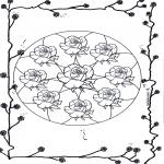 Mandala - Mandala of roses