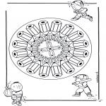 Mandala - Mandala pencil