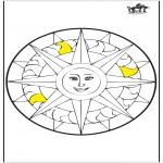 Mandala - Mandala sun