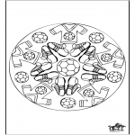 Mandala - Mandala voetbal 2
