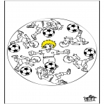 Mandala - Mandala voetbal 3
