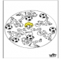 Mandala voetbal 3