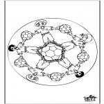 Mandala - Mandala voetbal