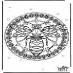 Mandala - Mandala wesp