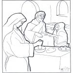 Bibelsk - Mary,Martha and Jesus
