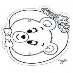 Kreativitet - Mask bear