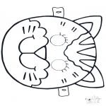 Kreativitet - Mask Cat