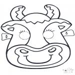 Kreativitet - Mask Cow 2