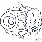 Kreativitet - Mask Sheep