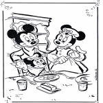 Tegneseriefigurer - Mickey and Minnie